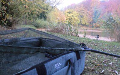 Mooie herfst vissen voor Team member Sjors Quaedackers